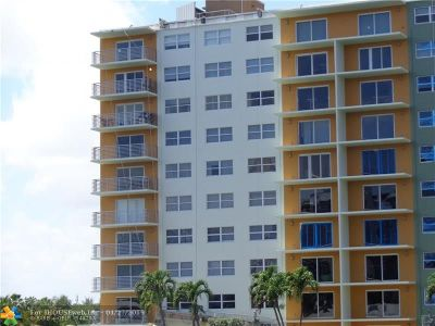 Fort Lauderdale Condo/Townhouse For Sale: 2900 NE 30th St #4-H
