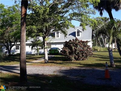 West Palm Beach Single Family Home For Sale: 7303 Wilson Rd