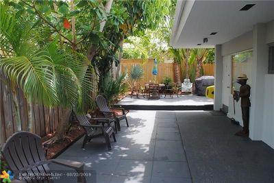 Fort Lauderdale Rental For Rent: 2918 N Ocean Blvd #3