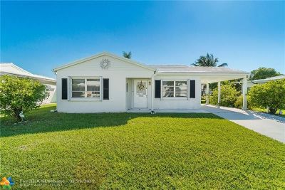 Tamarac Single Family Home For Sale: 6808 NW 70th St