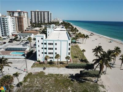 Broward County Condo/Townhouse For Sale: 1801 S Surf Rd #2F