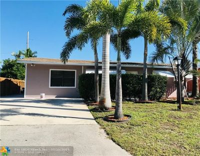 Pompano Beach Single Family Home For Sale: 1415 NE 28th Ct