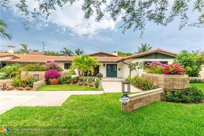 Fort Lauderdale Single Family Home For Sale: 2761 NE 20th St