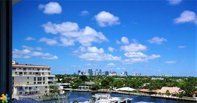 Fort Lauderdale Condo/Townhouse For Sale: 720 Bayshore Dr #805