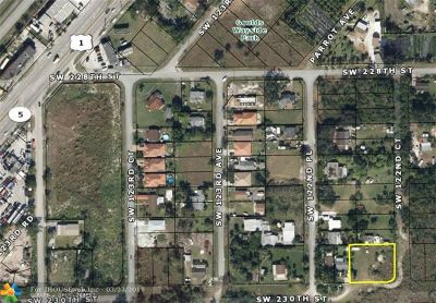 Miami Residential Lots & Land For Sale: 12241 SW 230th St