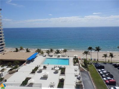 Fort Lauderdale Condo/Townhouse For Sale: 4300 N Ocean Blvd #18A