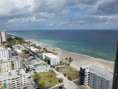 Broward County Condo/Townhouse For Sale: 2101 S Ocean Dr #2704