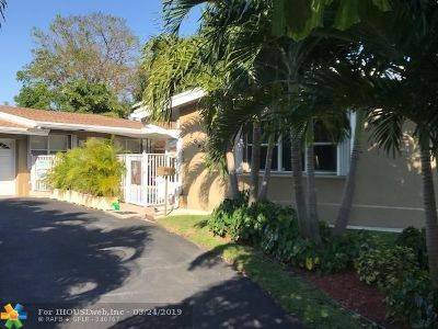 Fort Lauderdale Single Family Home For Sale: 2648 Middle River Dr