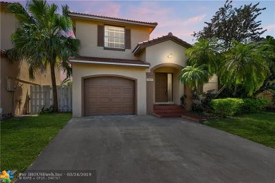 Sunrise Single Family Home For Sale: 1311 NW 125th Ter