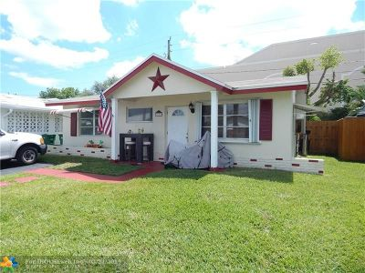 Broward County Single Family Home For Sale: 2630 NW 51st Pl
