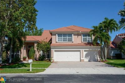 Pembroke Pines Single Family Home For Sale: 1201 NW 193rd Ave