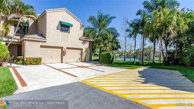 Coral Springs Condo/Townhouse Backup Contract-Call LA: 1662 Cypress Pointe Dr #6A