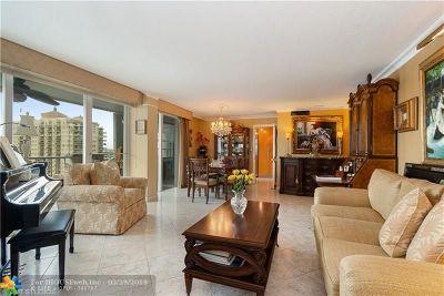 Fort Lauderdale Condo/Townhouse For Sale: 2800 E Sunrise Blvd #12E