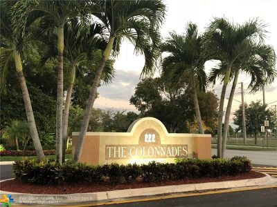 Plantation Condo/Townhouse Backup Contract-Call LA: 704 NW 91st Ter #704