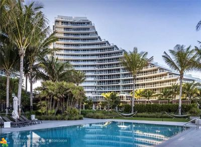 Fort Lauderdale Condo/Townhouse For Sale: 2200 N Ocean Blvd #N702