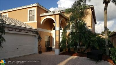 Boca Raton Single Family Home For Sale: 8807 Sonoma Lake Blvd