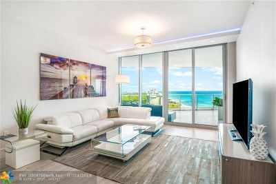 Fort Lauderdale Condo/Townhouse For Sale: 701 N Fort Lauderdale Beach Blvd #1704