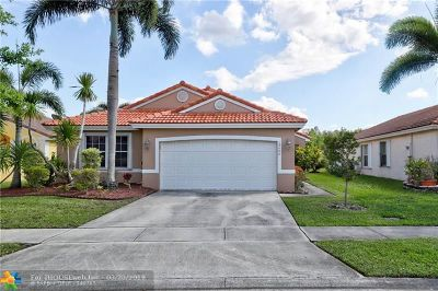 Pembroke Pines Single Family Home For Sale: 19406 SW 5th St