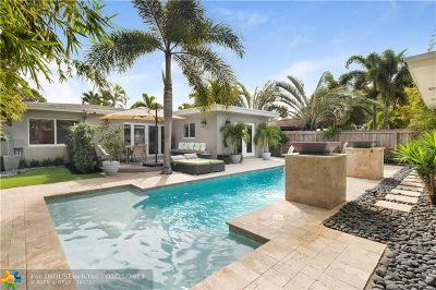 Fort Lauderdale Single Family Home For Sale: 1725 NE 17th Ave