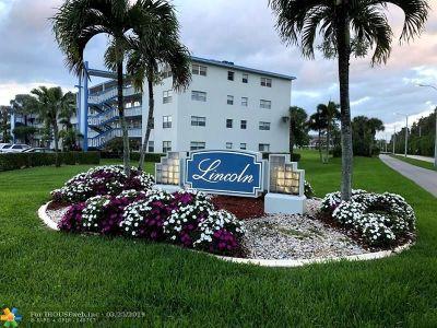 Boca Raton Condo/Townhouse For Sale: 4008 Lincoln A #4008