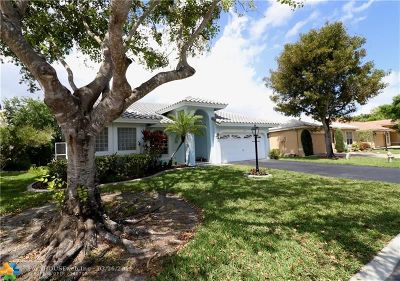 Coral Springs Single Family Home For Sale: 5717 NW 47th Ct