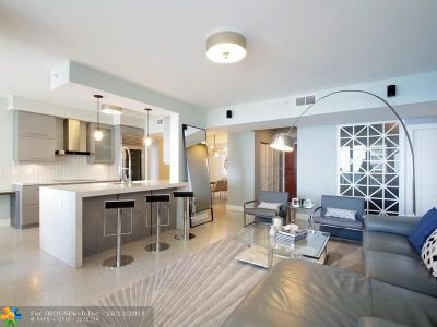 Condo/Townhouse For Sale: 3200 N Ocean Blvd #F1105