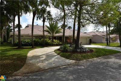Coral Springs Single Family Home For Sale: 8830 NW 18th St