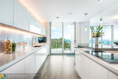 Broward County Rental For Rent: 701 N Fort Lauderdale Beach Blvd #502