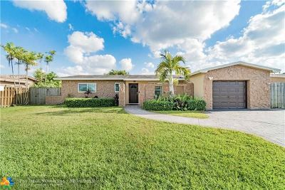 Pembroke Pines Single Family Home For Sale: 8510 NW 24th Ct