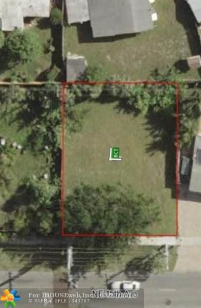 Pompano Beach Residential Lots & Land For Sale: 4430 NE 15th Ave