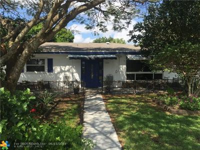 Coconut Creek Single Family Home For Sale: 1001 NW 45th Ave