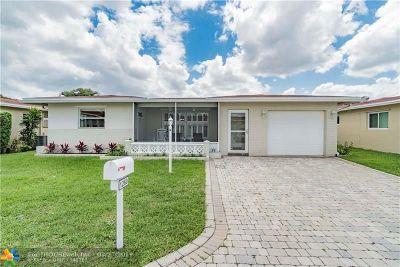 Deerfield Beach Single Family Home Backup Contract-Call LA: 1260 NW 49th St