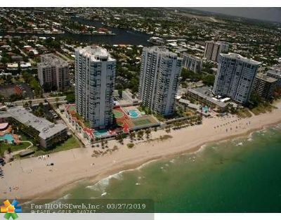 Pompano Beach Condo/Townhouse For Sale: 1360 S Ocean Blvd #1603