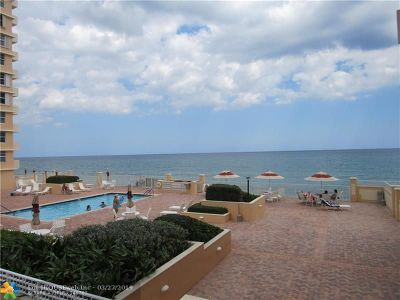 Highland Beach Condo/Townhouse For Sale: 4511 S Ocean Blvd #106