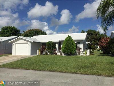 Tamarac Single Family Home For Sale: 7505 NW 66 Ter.