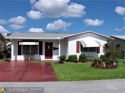 Tamarac Single Family Home For Sale: 4709 NW 49th Dr