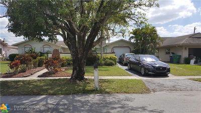 Lauderhill Single Family Home Backup Contract-Call LA: 8250 NW 45th Ct
