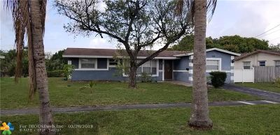 Lauderhill Single Family Home For Sale: 1133 NW 46th Ave