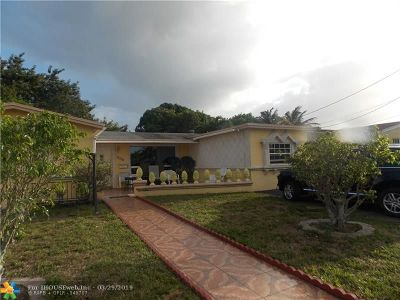 Fort Lauderdale Single Family Home For Sale: 3598 NW 39 Street