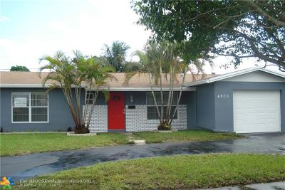 Lauderhill Single Family Home For Sale: 4970 NW 13th Ct