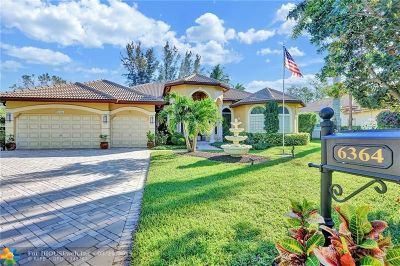 Parkland Single Family Home For Sale: 6364 NW 93rd Dr