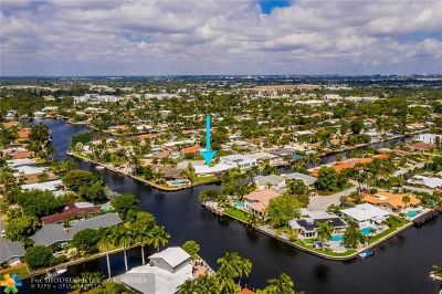 Wilton Manors Single Family Home For Sale: 2106 NE 17th Avenue