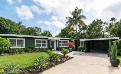 Wilton Manors Single Family Home Backup Contract-Call LA: 116 NE 26 Dr