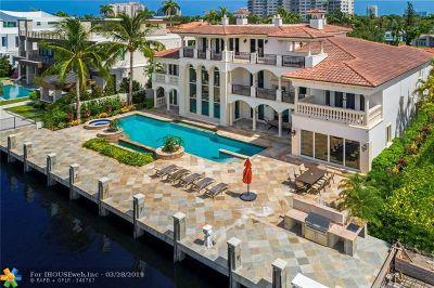 Fort Lauderdale Single Family Home For Sale: 2431 Delmar Pl