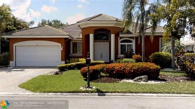 Coral Springs Single Family Home For Sale: 512 NW 120th Drive