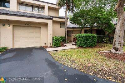 Plantation Condo/Townhouse Backup Contract-Call LA: 9313 Chelsea Dr N #9313