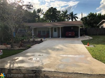 Wilton Manors Single Family Home For Sale: 3009 NE 3rd Ave