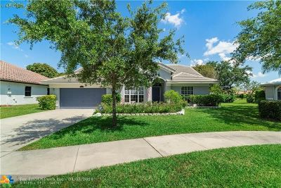 Coconut Creek Single Family Home For Sale: 5460 NW 38th Ter