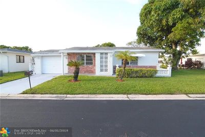 Broward County Single Family Home For Sale: 7235 NW 7th Ct