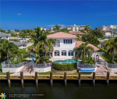Lighthouse Point Single Family Home Backup Contract-Call LA: 5111 NE 30th Ave